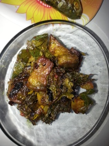 Pork with Misika Leaves
